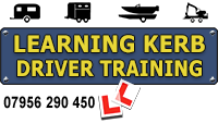 Learning Kerb Driver Training Centre Mobile Retina Logo